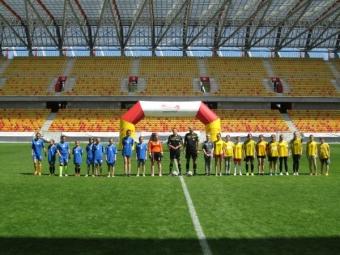 Turniej w piłce nożnej dziewcząt na STADIONIE MIEJSKIM-2