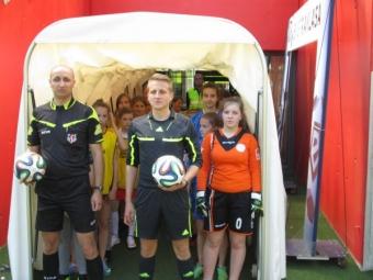Turniej w piłce nożnej dziewcząt na STADIONIE MIEJSKIM-7